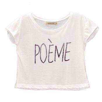 Remera Poeme - $215,00 | Fashion Palace