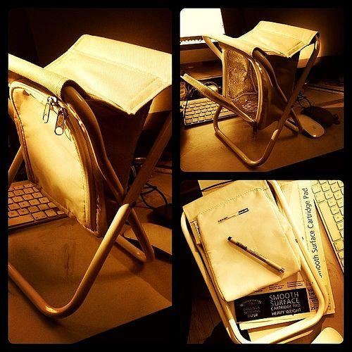 My new folding seat