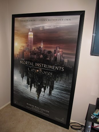 Thanks Dave! Mortal Instruments City Of Bones Bus Shelter Frame!