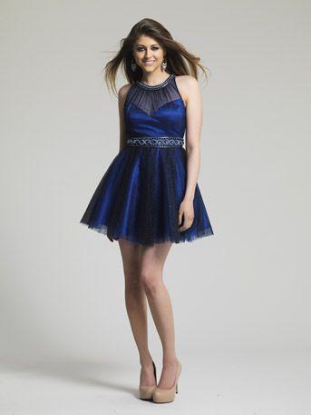 Sapphire Short Prom Dresses
