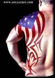 1000+ images about Badass America Tattoos on Pinterest | Flag tattoos, American flag and Tat