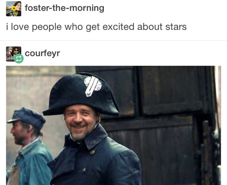 what? javert? smiling?? this is madness