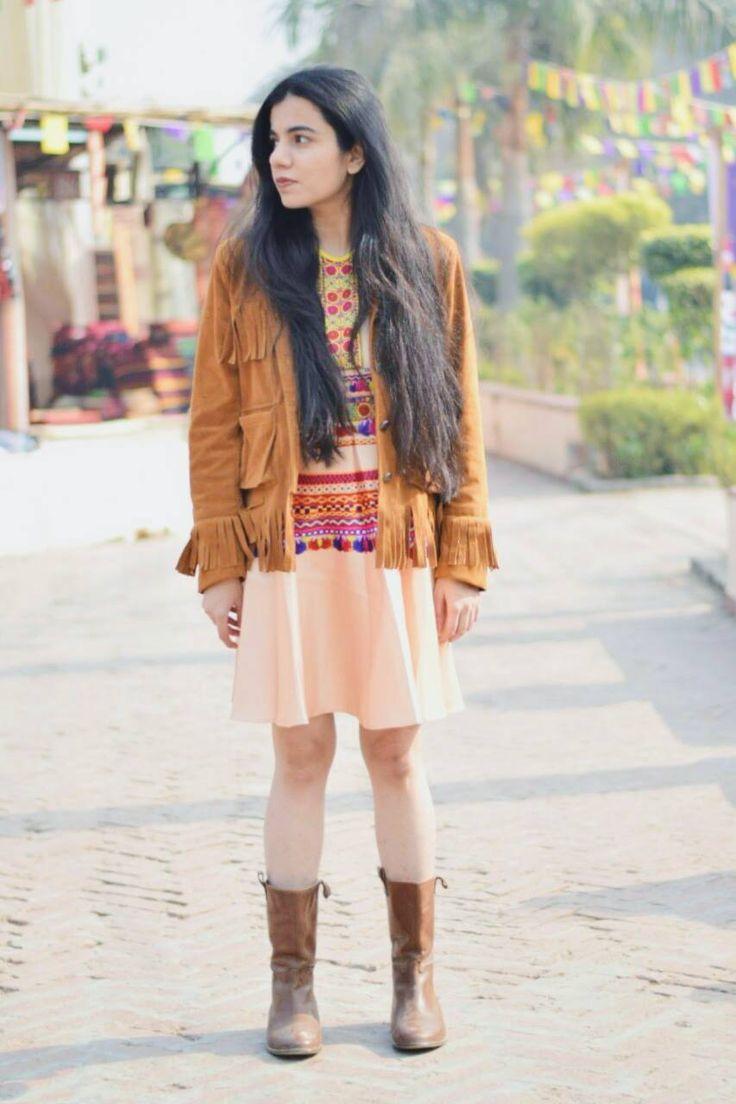 Printed Banjara Tunic for Cozy Winter Style by Preeti S Kapoor