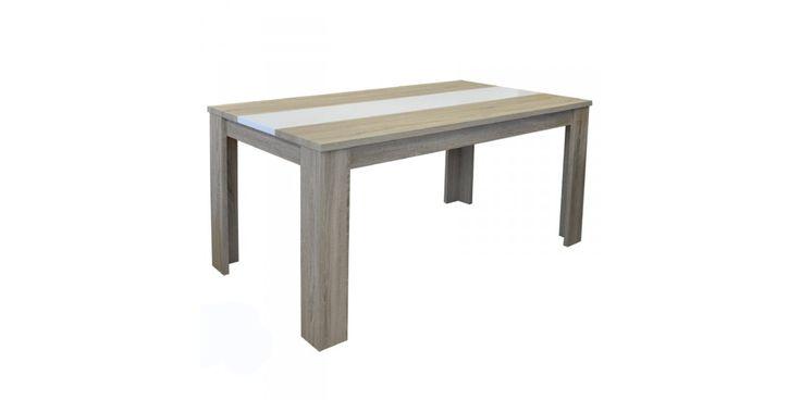 Προσφορά | Τραπέζι Omega σε χρώμα απ. σημύδας 160 x 90 x 76 εκ. E7708 | 135,20€