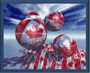Oh Canada cross stitch pattern