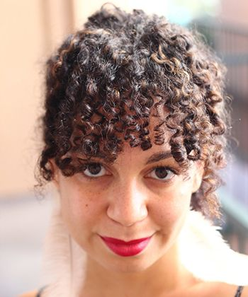 "A curly bob is a great way to show off your curls while also giving them a more professional and controlled look. Bangs  Curly bangs can be a challenge, but if worn correctly, can make for nice ""grown-up,"" professional hairstyles."