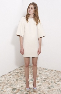 Stella McCartney - Structured smock dress.