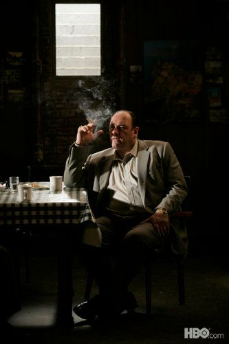 The Sopranos. Sad to hear the news today about James Gandolfini. Have spend many a happy hour in the company of Tony Soprano.
