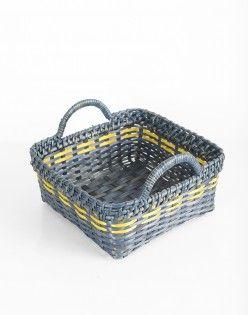 Aaliya Cane Bamboo Bread Basket