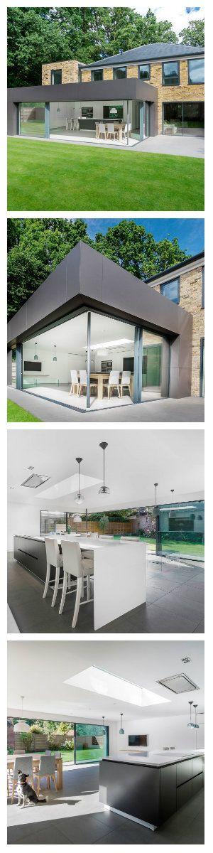 Richmond House был реконструирован студией дизайна AR Design Studio Architects. Основной задачей реконструкции было расширение площади. К основной постройке присоединено дополнительное помещение, где сейчас расположилась кухня и одна спальня. #освещение #подсветка #светодиоды #лампы #люстра #светильники #дизайн #интерьер #свет #светодиодноеосвещение #светодиоднаяподсветка #светодиодныелампы #кухня #дизайнкухни #дизайндома #дом #дизайнпроект #дизайнинтерьера #дизайнзагородногодома #подвесные