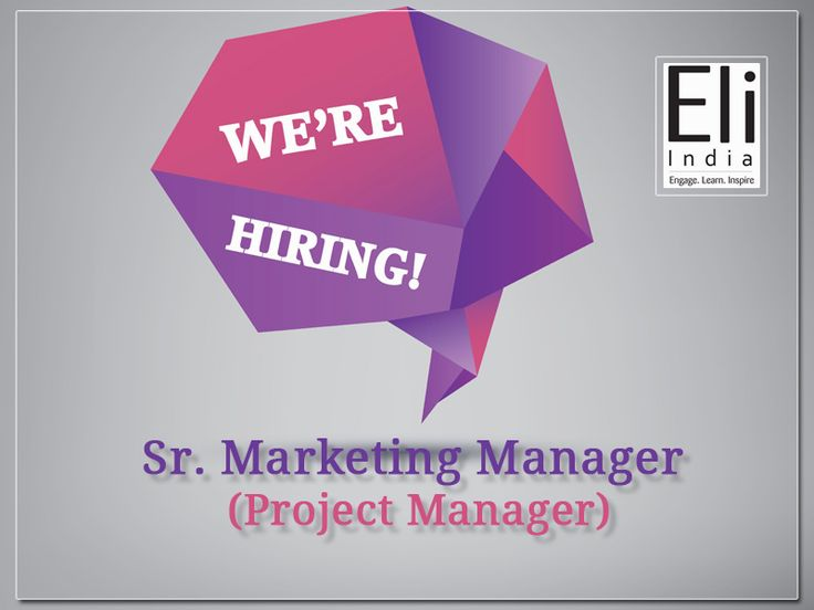 217 best Jobs at Eli images on Pinterest Delhi ncr, Jobs in and - engineer manager job description