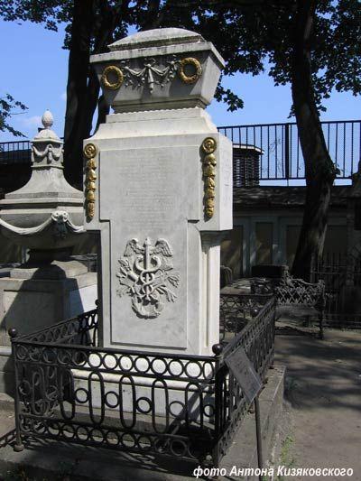 могила М.В. Ломоносова