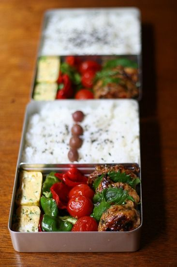 Japanese box lunch. This is what a great boxed lunch should look like.
