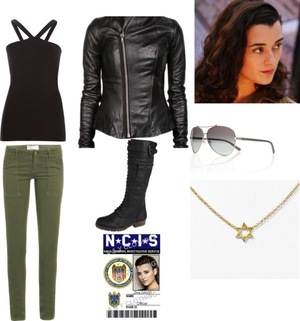 Ziva David outfit! Masquerade? Maybe I'll get a fellow NCIS fan to dress up as Tony or Gibbs!