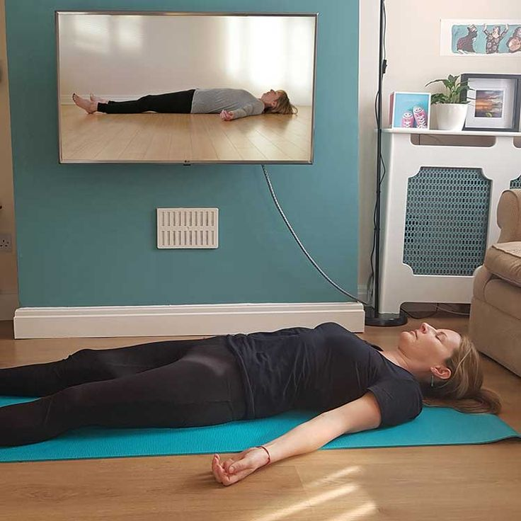 Bringing live online scaravelli inspired yoga classes into