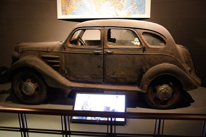 The oldest existing Toyota: Toyota AA from 1936
