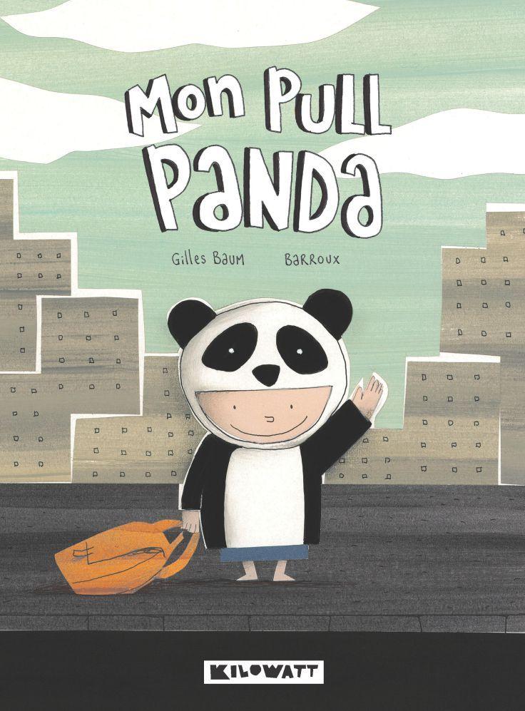 Mon pull panda : « les vêtements porte-bonheur, il faut les partager », l'amitié aussi. Un touchant récit de rencontre et de partage !