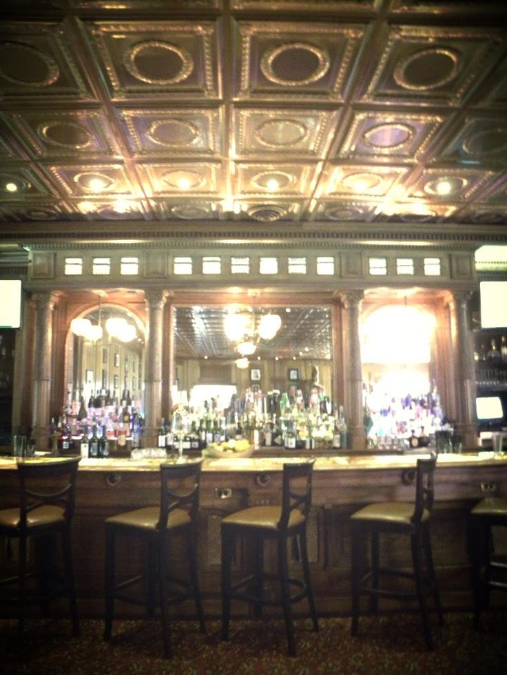 Bar from The Shining Stanley Hotel Estes Park CO in 2019  cellar  The stanley hotel Estes