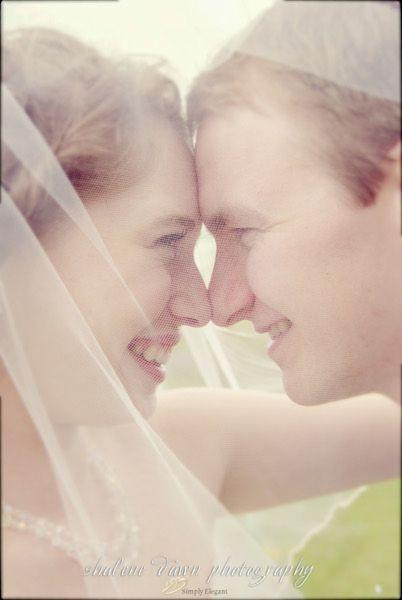 Shalene Dawn Photography | Bride & Groom Portrait Veil