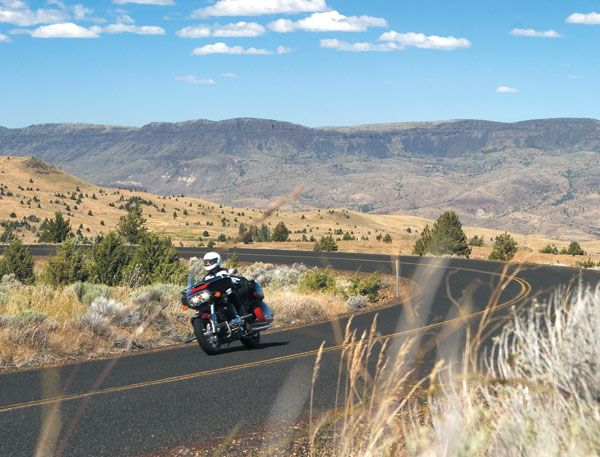The Elkhorn and Blue Mountain Scenic Byways