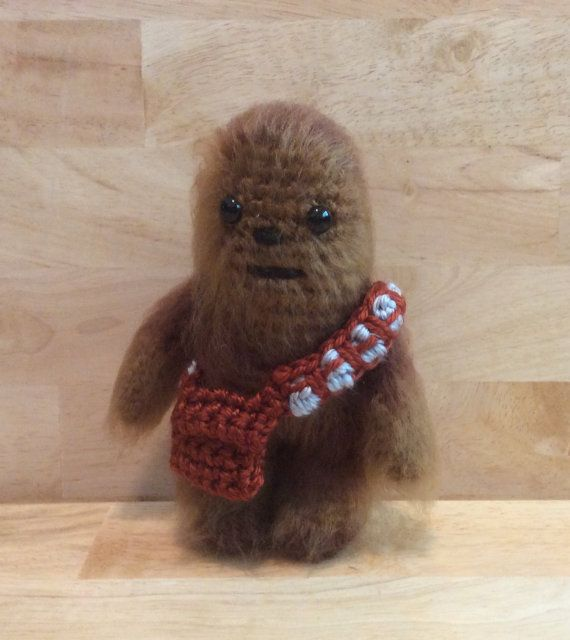 Crocheted Star Wars Chewbacca by JoSewz on Etsy