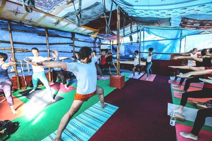 Retraite de Yoga en Inde #india #yogaretreat