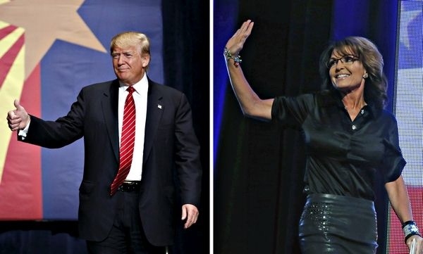 07-29-2015  Image: Trump, Palin Ticket Would Be a GOP Trailblazer