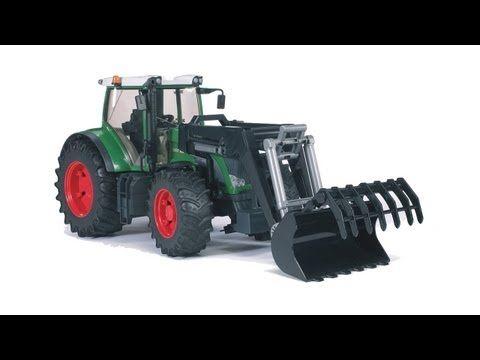 Bruder Fendt 936 Vario Tractor with Frontloader 03041 by Bruder Toys for $34.98 in Toys : Rural King