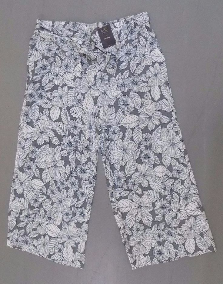 Marks & Spencer Ladies BNWT Palazzo Trousers Pants RRP £29.50 Size 18 #MarksandSpencer #Palazzo
