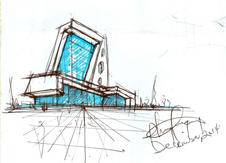 #ourdailysketch by Philip Aboah @The Architect's Project @tappingGhana