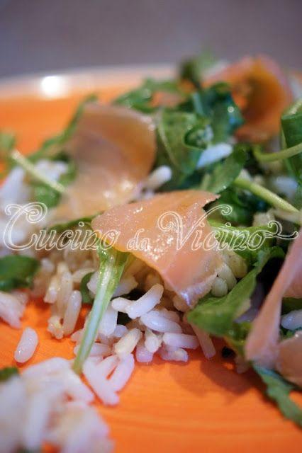 Buonissima ricetta con basmati, salmone e rucola!