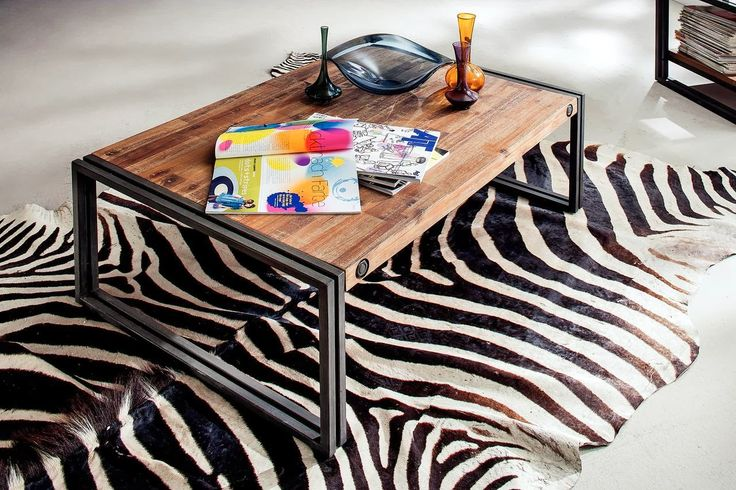 Kika City industrial coffee table