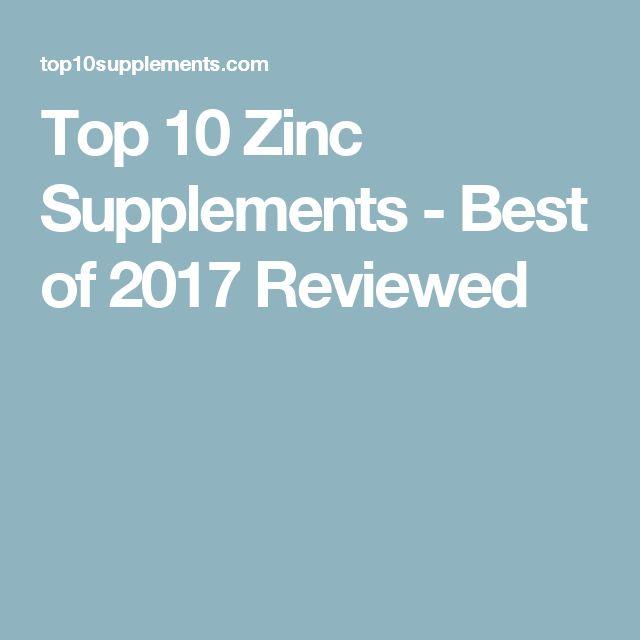 Zinc supplement benefits and risks
