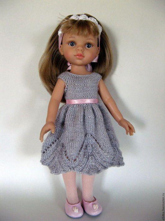 Одежда для кукол ручной работы. Одежда для кукол - Нежное платье для кукол Паола Рейна. Мастерская кукольных нужностей (Elli4ka). Интернет-магазин Ярмарка Мастеров.