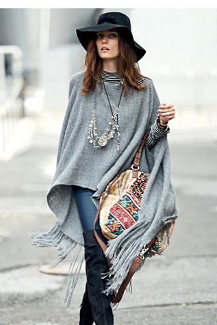 Nomadic Thread Society Sedwick Alpaca Poncho is on sale now for - 25 % !