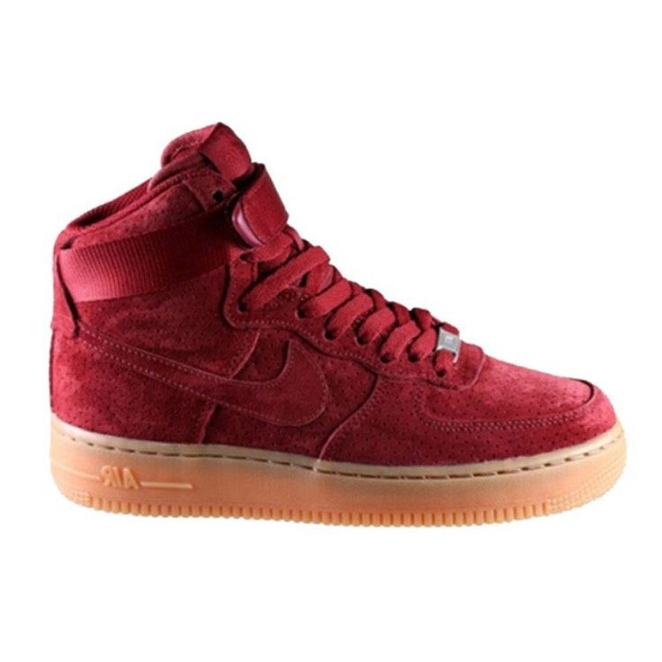 UniSneakerVerse - Nike Air Force 1 High Red Suede