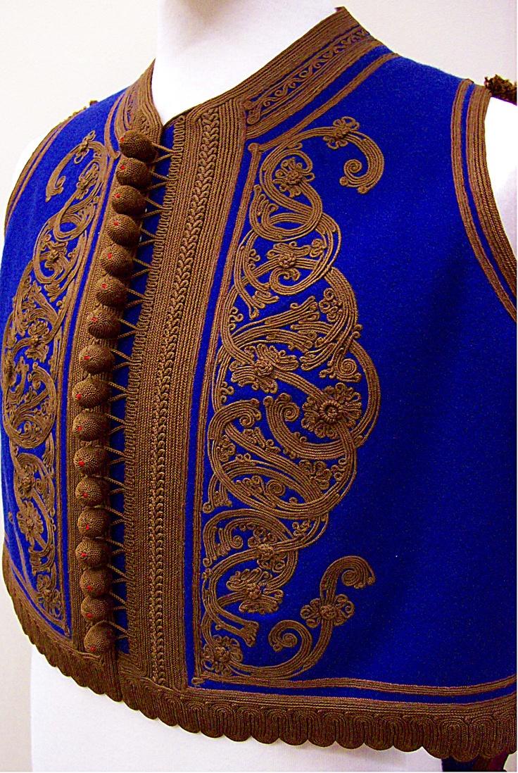 Male vest for Fustanela costume