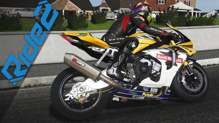 Yamaha R1 Epayme  (Ride 2 Gameplay) TOP SPEED of Racing Motors