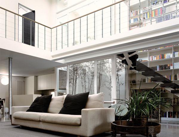 Barandillas Railing NIK de Fontanot: barandillas de madera maciza y aluminio anodizado bellas y resistentes | Fontanot escaleras