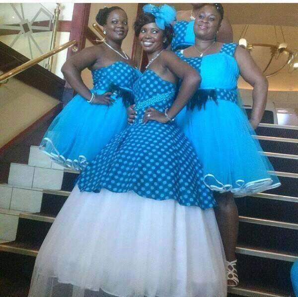 new shweshwe 2017 Wedding dresses trends