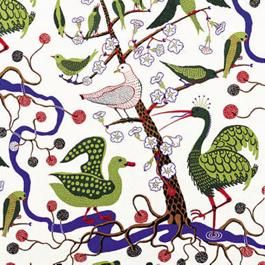 """just scandinavian"" - fabric website. this fabric pictured is josef frank, 1944. justscandinavian.com"