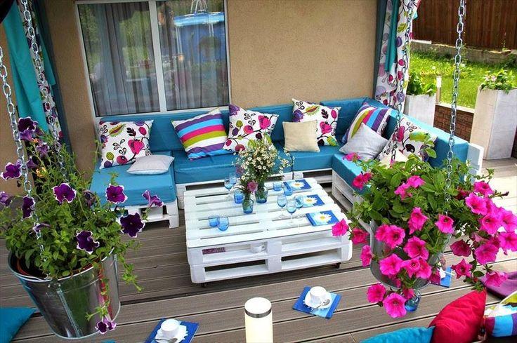 Pallet Patio Furniture - 20 Unique Ideas to Use the Pallets Wood | Pallet Furniture DIY