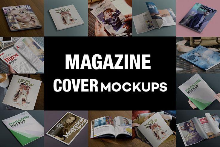 Free Magazine Mockups PSD
