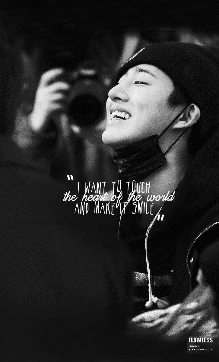 """noonakiller-hanbin: """"you smile. i smile :') ~"""""""