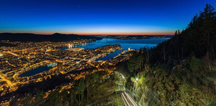 City Lights by Eirik Sørstrømmen on 500px