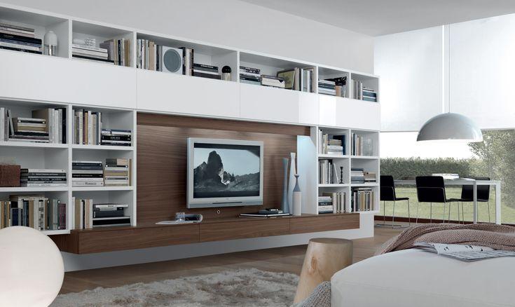 Jesse - Mobili Arredamento Design - Wall Units - open system
