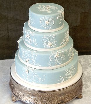 Tiffany's Blue Wedding Cake Design by New Renaissance Cakes  Seattle, Wa   Bonnie @ 206-920-5322 bonnie@newrenaissancecakes.com  www.newrenaissancecakes.com     Please mention that you found them thru Jevel Wedding Planning's Pinterest  Account.  Keywords: #weddingcakes #tiffanybluethemedweddingcakes #jevelweddingplanning Follow Us: www.jevelweddingplanning.com  www.facebook.com/jevelweddingplanning/