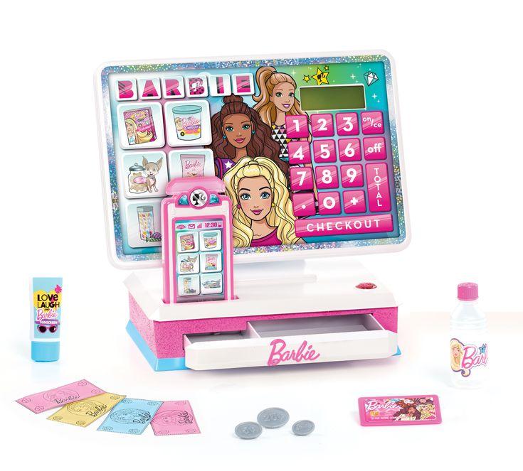 Barbie sparkle and shine cash register multicolor toys