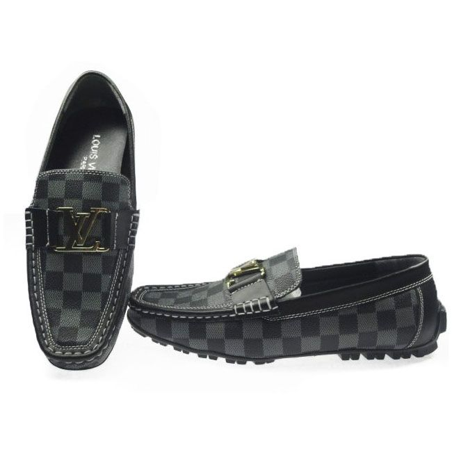 31b5a92731c4 Louis Vuitton Hockenheim Loafer in Damier Azur Canvas L061