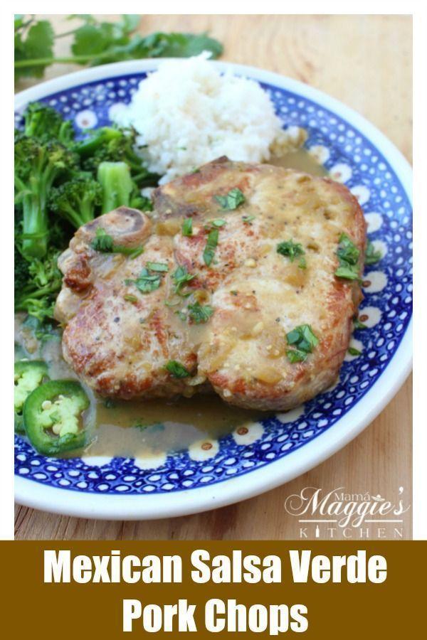 Chuletas De Puerco En Salsa Verde Salsa Verde Pork Chops Is A Flavorful And Delicious Recipe Juicy Meat In A Savor Mexican Pork Recipes Recipes Pork Recipes
